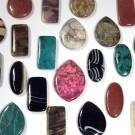 Кабошоны из натурального и синтетического камня