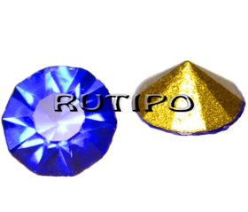 Конусний страз Sapphire 2мм, шт
