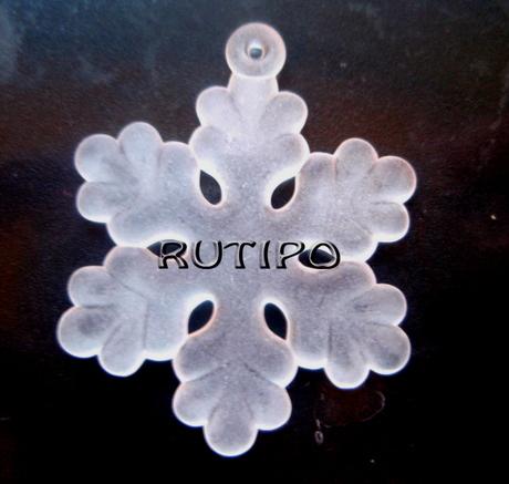Підвіска Сніжинка, 33 * 26мм, шт