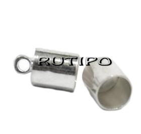 Концевик под серебро 10*6мм (в\д 5мм), шт