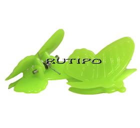 Заколка Бабочка зеленая, 24*20*17мм, шт