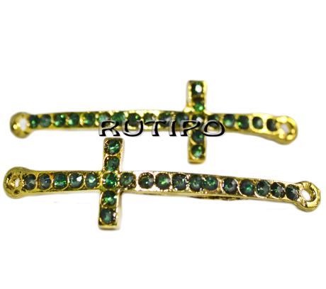 Коннектор Крест под золото, 50*15мм, шт