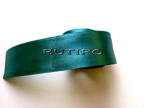 3044 Стрічка атласна зелена, 2.5см * 1м