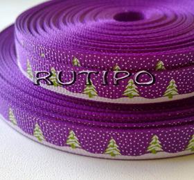 Стрічка репсова фіолетова