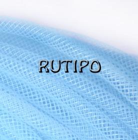 Регилин трубчатый голубой, 4мм*1м