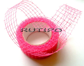 Сетка флористическая розовая, 5см*1м