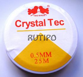 Леска эластичная, катушка - 0.5мм*25м