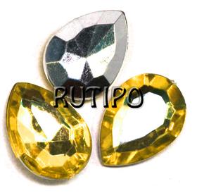 Акриловый кристалл Dark Goldenrod , 18*13*5мм, шт