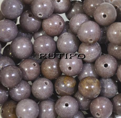 Намистини Кварцит пурпурний, 8мм, 100шт