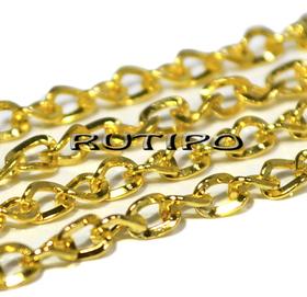 Цепь витая под золото (р/з 5*4мм), 10м