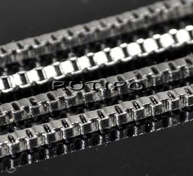 Цепь ювелирная сталь (р\з 2*2мм), м