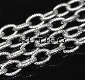 Ланцюг ювелірна сталь (р \ з 10 * 7мм), м