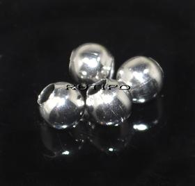 Бусина ювелирная сталь 4 мм , шт