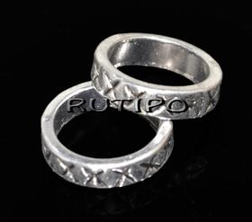 Декоративное кольцо 14*3.5мм, шт