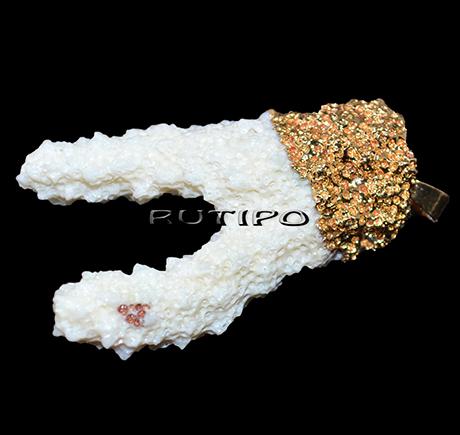 Кулон натуральный Коралл 54*31*22мм, шт