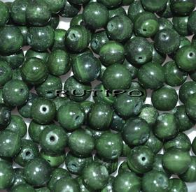 Бусина натуральный Малахит 6 мм, шт