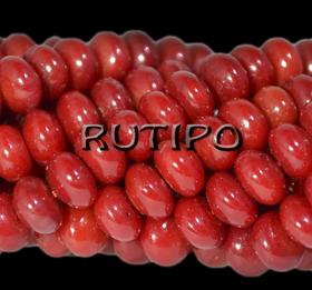 Natural Coral bead, 6 * 4mm, pcs