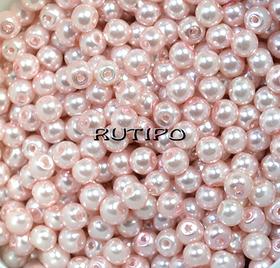 LavenderBlush pearl bead, 4mm, pcs
