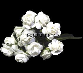 Цветочки белые 15мм, 1 цветок