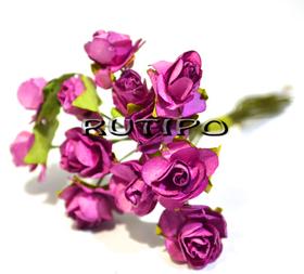 Цветочки вишневые 12мм, 1 цветок