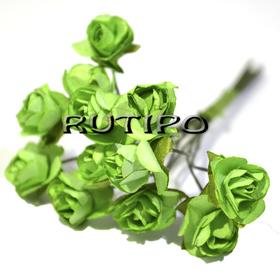 Цветочки зеленые 15мм, 1 цветок