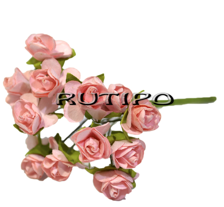 Квіточки рожеві 15мм, 1 квітка
