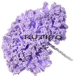 Цветочки Алиум сиреневый 4см ,12шт