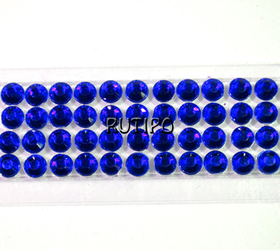 Скотч зі стразами Cobalt, 17 мм, бобіна