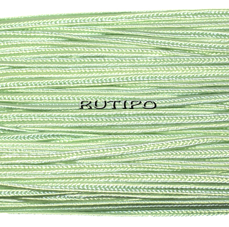 Сутажной шнур салатовий світлий, 3мм * 1м