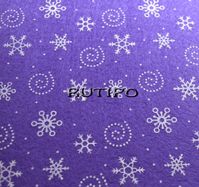 Фетр темно-фиолетовый