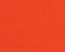 Фетр ярко-оранжевый - 22.5*31*0.1см (США)