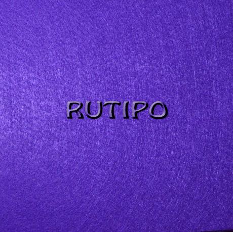 Фетр фіолетовий, лист - 20 * 30.5 * 0.1см