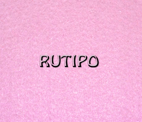 Фетр светло-розовый, лист - 10*15*0.1см