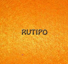 Фетр яскраво-оранжевий - 20 * 29.5см, товщина 0.9-1мм