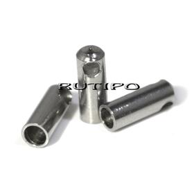 Концевик ювелирная сталь , 7*2.5мм (в\д 1.8мм), шт