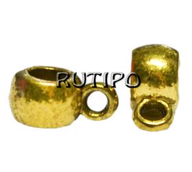 Тримачі для підвісок під золото, 9*6мм, 30шт