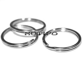 Кольцо для брелка Ювелирная сталь 20мм, шт