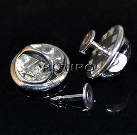 Blank-badge Steel color 12 * 4.5mm, 20 sets