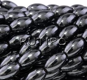 Намистина оливка, Гематит, 5*3мм, шт