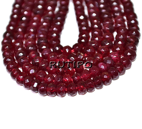 Jadeite bead 4 * 2mm, low 36cm (approx. 130pcs)