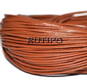 Шкіряний шнур цегляний, 1.5мм * 1м