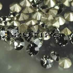 Конусный страз Black Diamond, 2 мм, шт