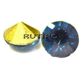 Конусный страз Blue Zircon 4.8мм,шт