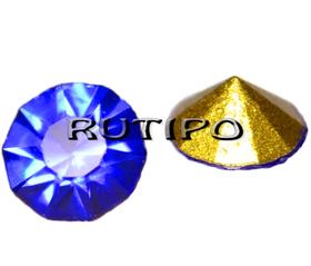 Конусный страз Sapphire, 2.8мм, шт