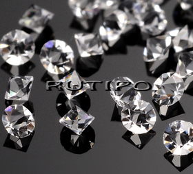 Стразы биконические Crystal 2мм, шт