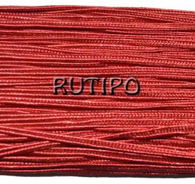Сутажный шнур красный, 3мм*1м