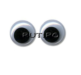 Глазки с бегающим зрачком, 15мм, пара