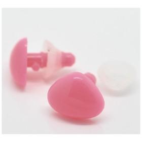 Носик для іграшок рожевий, 15 * 12мм та ком