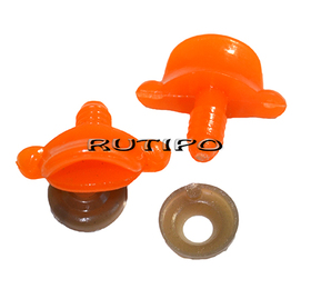 Качиний дзьоб для іграшок помаранчевий, 25 * 12мм та ком.