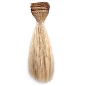 Волосы для кукол русый блондин, 15*100см